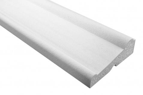 Fassade Außenstuck Gesims mit Ausprägung EPS PU stoßfest 50x150mm Sparpaket MC164