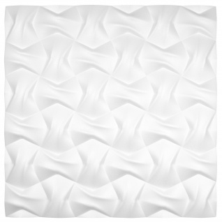 3D Wandpaneele Styroporplatten Wandverkleidung Wanddekor Paneele Bow 1 Platte - Vorschau 3