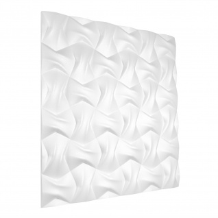 3D Wandpaneele Styroporplatten Wandverkleidung Wanddekor Verblender Bow Sparpaket