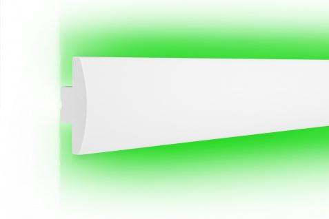 1, 15 Meter LED Leiste Trockenbau Stuckprofil Beleuchtung indirekt 90x39mm KD505
