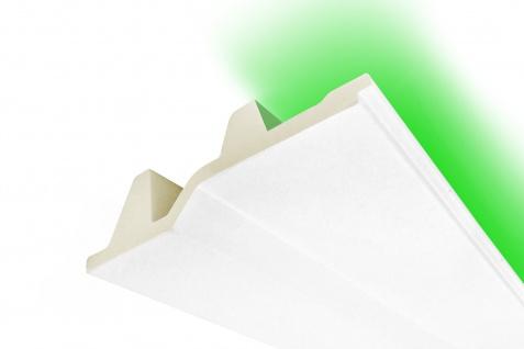 2 Meter LED Profile indirekte Beleuchtung Leiste lichtundurchlässig 40x150 KF709