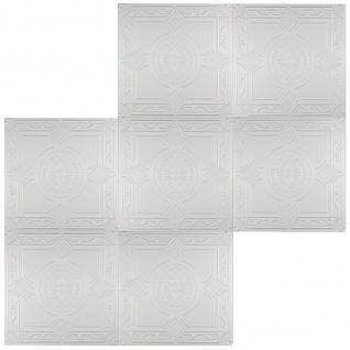1 qm Deckenplatten Polystyrolplatten Stuck Decke Dekor Platten 50x50cm Nr.32 - Vorschau 3