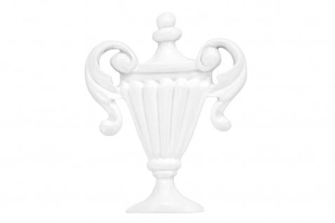 1 Ornament Dekorelement PU Stuckdekor Innen Wanddekor stoßfest 81x62mm, A610