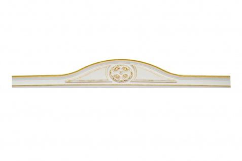 1 Bekrönung Giebel Türumrandung Dekor Stuck stoßfest 19, 5x125cm D481