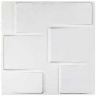 1 qm 3D Platten Natur Stuck ökologisch Paneele 3D Elite Panels 50x50cm Arthur
