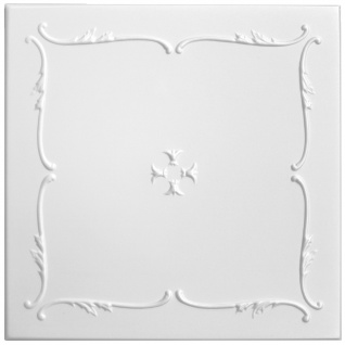 Sparpaket Deckenplatten Polystyrolplatten Decke Dekor Platten 50x50cm Nr.12