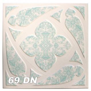 1 qm Deckenplatten Polystyrolplatten Stuck Decke Dekor Platten 50x50cm Nr.69 - Vorschau 5