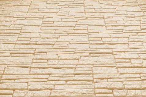 Dekorsteine Steinoptik Wandplatten Styroporplatten Verblender 48x18cm Rock beige - Vorschau 4