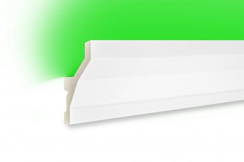 2 Meter LED Leiste PU Stuck indirekte Beleuchtung stoßfest Tesori 100x45mm KF719