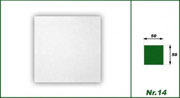 1 qm Deckenplatten Polystyrolplatten Stuck Decke Dekor Platten 50x50cm Nr.14 - Vorschau 2