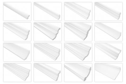 Styroporleisten Stuck Zierleiste Zierprofil XPS Profiqualität formfest E 2 Meter