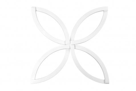 Ornament für Decke und Wand | PU | stoßfest | Hexim | 60x60cm | FR30