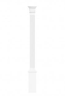 Pilaster 170x22mm   Wandreliefe Stuckdekor aus PU - stoßfest   Perfect D1510