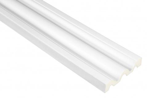 2 Meter PU Flachprofil für Türumrandungen stoßfest Hexim 102x24mm | FH9133