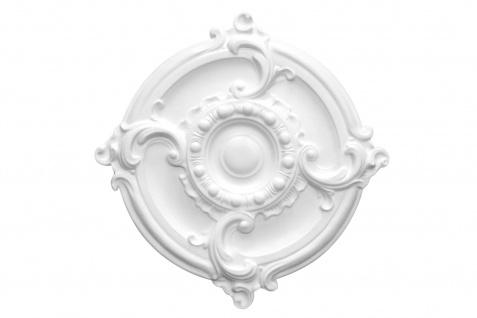 1 Rosette | Decke Stuck Innendekor EPS Dekor Marbet Durchmesser 40cm R-3