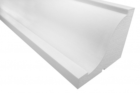 Fassadenprofile Gesimsprofile Dekorstuck stoßfest 110x220mm Sparpaket KC126