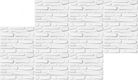 1 qm 3D Platten Natur Stuck ökologisch Paneele 3D Elite Panels 63x80cm Ariella - Vorschau 3