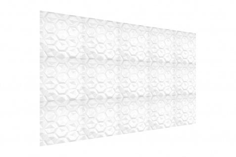 3D Wandpaneele Styroporplatten Wandverkleidung Wanddekor Verblender Hexagon Sparpaket - Vorschau 4