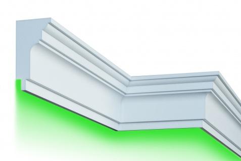 Fassade LED Stuck EPS PU Fassadenleisten wetterfest 210x230mm Sparpaket KC304