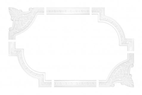 Wand und Deckenumrandung Fries Spiegel Bilderrahmen Stuck Dekor stoßfest AC255