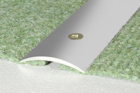 1, 8 Meter Übergangsprofile Alu eloxiert C-Form rostfrei 30x5mm A03