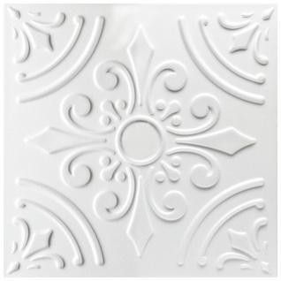 1 qm Deckenplatten Polystyrolplatten Stuck Decke Dekor Platten 50x50cm Nr.33