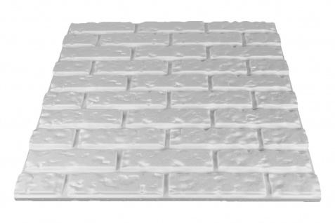 3D Wandpaneele Styroporplatten Wanddekor Ziegelsteine Verblender Brick Sparpaket - Vorschau 3