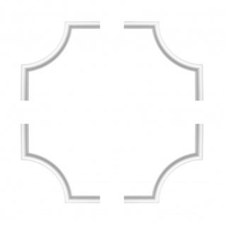 1 Set Segmente Bögen für Flachleiste E-27   Stuck   Marbet Design   NE-27-01