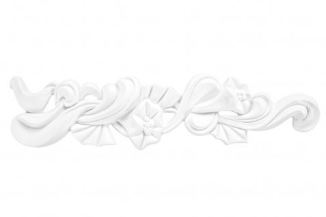 1 Ornament Dekorelement PU Stuckdekor Innen Wanddekor stoßfest 332x80mm, A623L/R