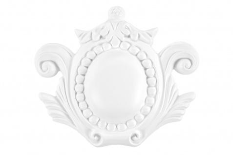 1 Ornament Dekorelement PU Stuckdekor Innen Wanddekor stoßfest 176x155mm, A685