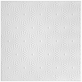 1 qm Deckenplatten Polystyrolplatten Stuck Decke Dekor Platten 50x50cm Nr.96