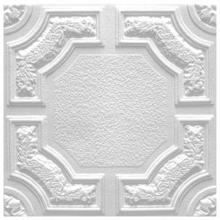 1 qm Deckenplatten Polystyrolplatten Decke Dekor Platten 50x50cm Caracas