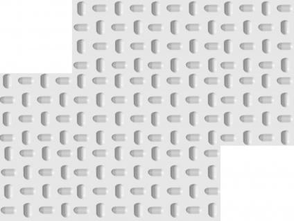 3D Wandpaneele Styroporplatten Wandverkleidung Wanddekor Verblender Tabs Sparpaket - Vorschau 3