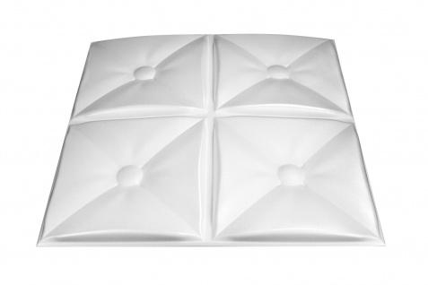 3D Wandpaneele Styroporplatten Wandverkleidung Wanddekor Paneele Cozy 1 qm - Vorschau 3