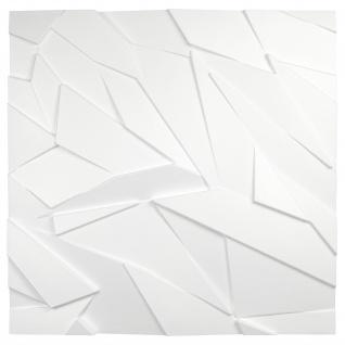 3D Wandpaneele Styroporplatten Wandverkleidung Wanddekor Verblender Sapphire Sparpaket - Vorschau 3