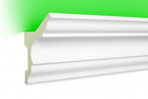 Meter LED Leiste Profile indirekte Beleuchtung lichtundurchlässig 80x48 LED-4