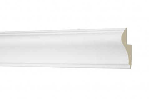 2M Umrandung 50x30mm - Stuckleiste aus PU glatt, stoßfest - Perfect AD406