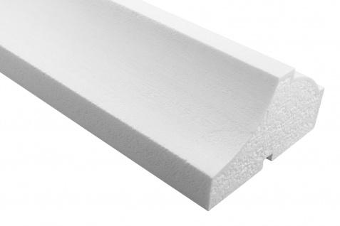 Fassade Außenstuck Gesims mit Ausprägung EPS PU stoßfest 80x140mm Sparpaket MC160