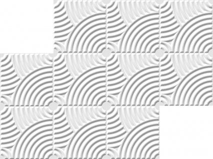 1 qm 3D Platten Natur Stuck ökologisch Paneele 3D Elite Panels 50x50cm Julia - Vorschau 3