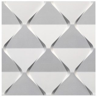 3D Paneele Sparpaket | Styroporplatten | Wandverkleidung | EPS | 60x60cm | Harmony