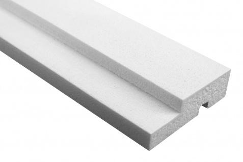 Fassade Außenstuck Gesims mit Ausprägung EPS PU stoßfest 30x100mm Sparpaket MC150