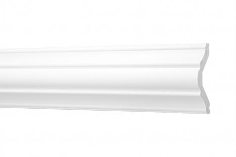 2 Meter Flachleisten HXPS Eckleisten Ecopolimer stoßfest Cosca 62x22mm CM22