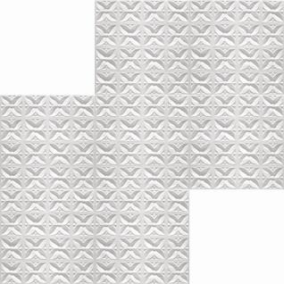1 qm Deckenplatten Polystyrolplatten Stuck Decke Dekor Platten 50x50cm Margareta - Vorschau 2