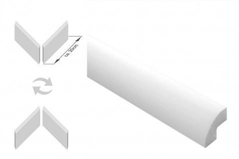 Stuckleisten inkl. Ecken |XPS | stabil | Marbet | 22x22 | E-1-NK