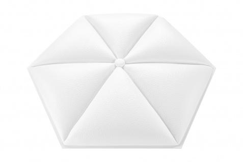 1 Platte | 3D Paneele | PU | Wand | stoßfest | 46x46cm | Grand Decor | W332