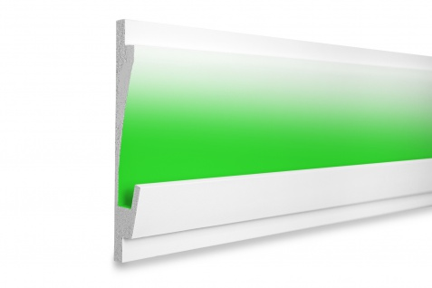 1, 15 Meter LED Leiste Trockenbauprofilel Beleuchtung indirekt 185x35mm KD406