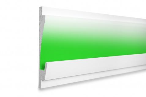 1, 15 Meter LED Profil XPS Stuck Trockenbau Tesori 185x35mm KD406