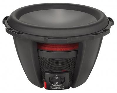 ROCKFORD FOSGATE POWER Subwoofer T0D412 30 cm Subwoofer Bassbox 1400 Watt