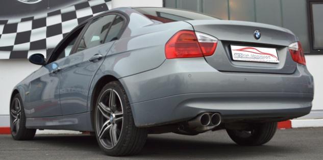 Friedrich Motorsport 70mm Auspuff Sportauspuff BMW E90/E91 Bj. 2005-2012 - Vorschau 1