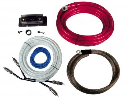 HIFONICS Premium Kabelset 35 mm² HF35WK Kabel Set für Endstufe Verstärker